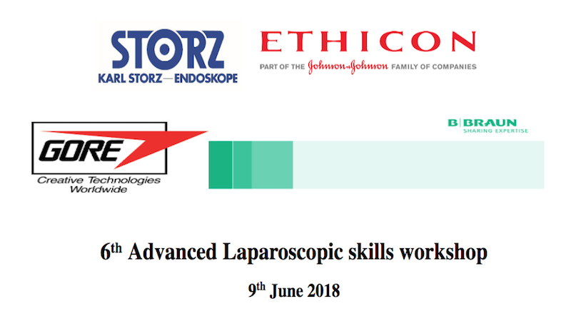 6th Advanced Laparoscopic skills workshop - Doncaster