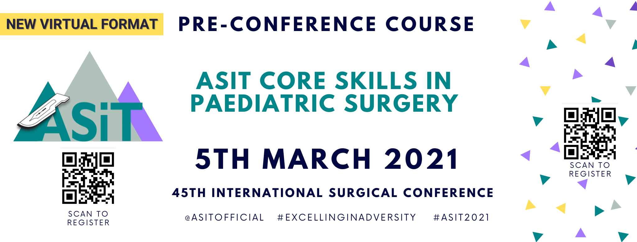 ASiT Core Skills in Paediatric Surgery: Pre-Conference Course